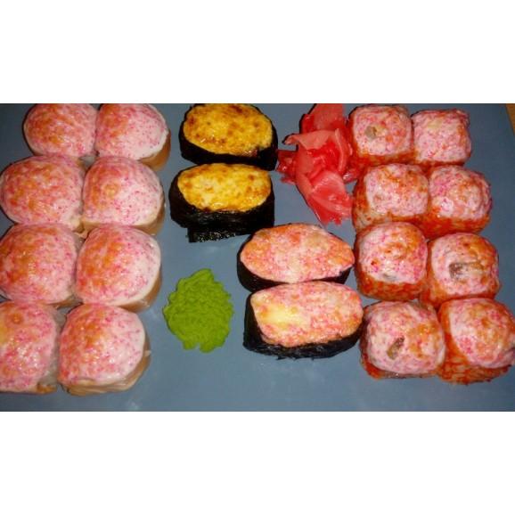 Запеченный сет с лососем